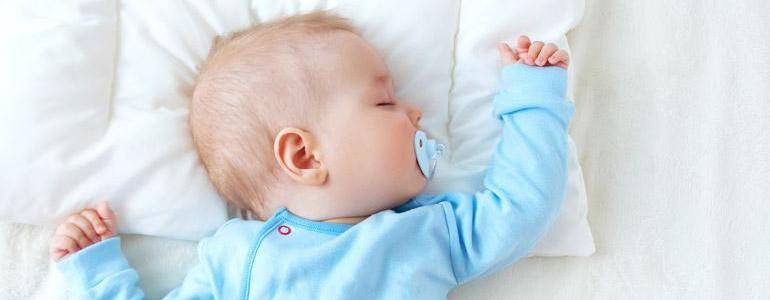 ¿El chupete en bebés es un problema?