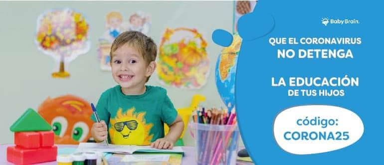 Que el CoronaVirus no detenga la educación de tus hijos
