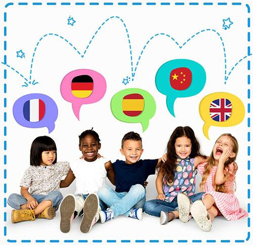 idiomas niños