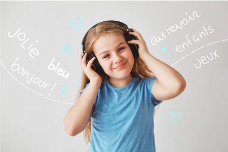 Cómo aprender francés para niños - mobile
