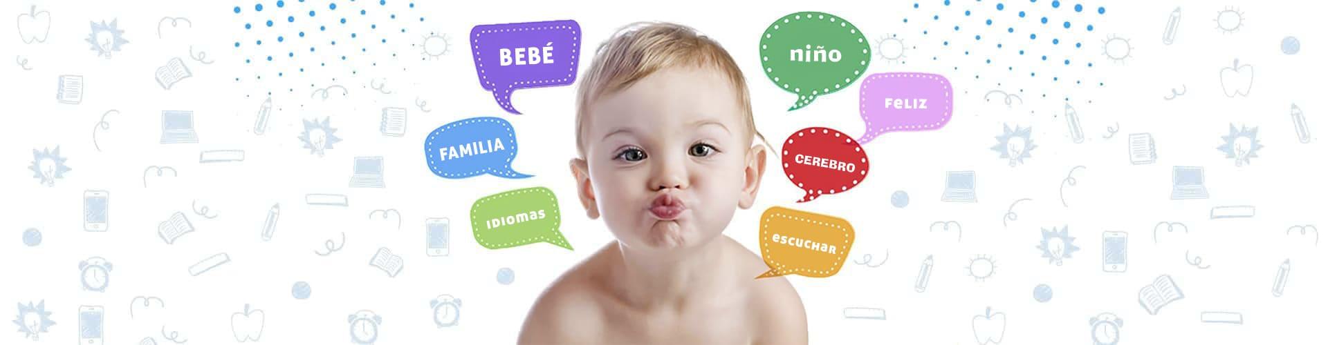 Cómo aprender español para niños y niñas de 0 a 7 años